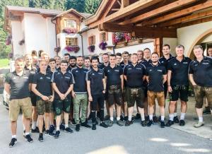 Trainingslager Sommer 2018